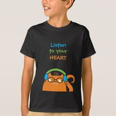 Cat Hipster Music Glasses Bright Modern Funny Cool T-Shirt - trendy gifts cool gift ideas customize