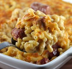 Mac and Cheese with Hot Dogs Recipe | Free Delicious Italian Recipes | Simple Easy Recipes Online | Dessert Recipes
