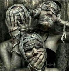 See, hear, speak..no evil!!!