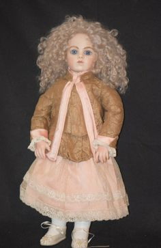 Vintage Doll Marianne DeNUNEZ Bisque Dressed