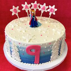 Awesome Photo of Frozen Birthday Cake Images . Frozen Birthday Cake Images Disney Frozen Birthday Cake As Shown Elsa Birthday Cake, Round Birthday Cakes, Frozen Themed Birthday Cake, Mickey Mouse Birthday Cake, Birthday Cake Pictures, Happy Birthday Cakes, Disney Birthday, Birthday Ideas, Bolo Frozen