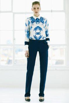 Preen by Thornton Bregazzi | Pre-Fall 2012 Collection | Vogue Runway