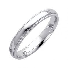 Band, Comfort_Fit, Engagement_Band, Hers_band, His_Band, his_hers_band, Jewelry, Men_Band, Milgrain_Band, Ring, Solid_Gold, Wedding_Band, White_gold