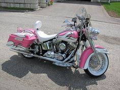 StudioPeg's Pink 2008 Harley Softail Deluxe