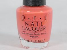 OPI Back to the Beach Peach