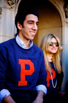 Juniors and seniors show their Penn pride with their class sweatshirts!