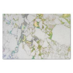 White Gray Marble colorful Brushes Tissue Paper - diy individual customized design unique ideas