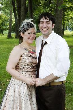 Jamie & Chris' Family Reunion Style Wedding   Offbeat Bride