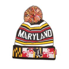 Maryland Flag Beanie
