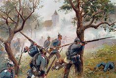German Infantry, Franco-Prussian War