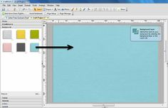 Serif Craft Artist Letter Press Style 1 - Step 1 - Apply a background