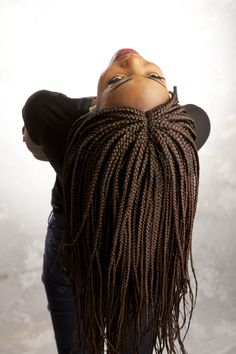 Braided Lace Wig-  Box Braids- Color #99j   #braidedwig #lacefrontwig #boxbraidstyles