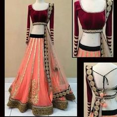 Wedding Special Lehnga | http://www.fashion4style.com/woman/clothing/bollywood-replica/cream-gold-queen-lehnga/pid=MTQ0 #love #party #beautiful #weddingsuit