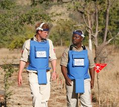 Prince Harry follows in Diana's footsteps with visit to the minefields in Angola with HALO Trust - hellomagazine.com