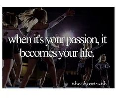 When it's your passion it becomes your life!:)