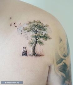 Pine tree tattoo leg evergreen 43 Ideas for 2020 Evergreen Tree Tattoo, Pine Tree Tattoo, Family Tree With Pictures, Christmas Tree Pictures, Unique Tattoos, Small Tattoos, Tattoos For Guys, Dog Tattoos, Sleeve Tattoos