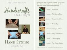 Handicrafts Made Simple: Hand-Sewing