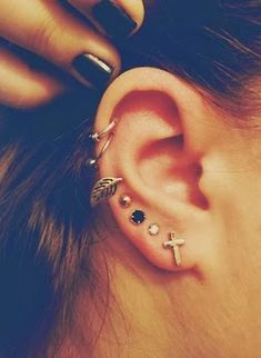 ear piercings ~ Only Fashion