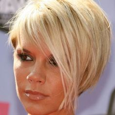 victoria beckham bob haircut back view - Google Search