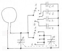 Portable faltbare Magnetic Loop mit Radio-Drehkondensator