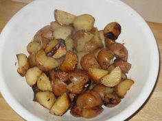 Rosemary Roast Potatoes in the Slow Cooker