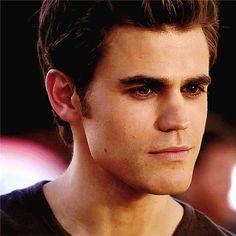 Stefan's tiny smile, often seen