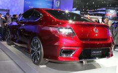 Honda Accord 2014 From Back View Wallpaper