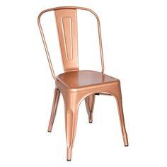 Finemod Imports Modern Talix Chair Copper FMI10014-copper
