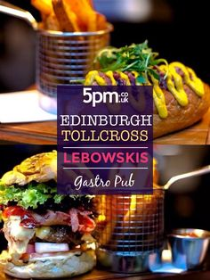 For Dine Out Edinburgh, enjoy a burger, a side and a drink for just £15.95 at Lebowskis. The burger menu is a highlight at Lebowskis. Five classic and around half a dozen seasonal burgers can be tweaked and customised ad infinitum with an array of cheeses, sauces, meat toppings and veg sides. There are chicken, veggie, venison, haddock and pulled pork variations but the aged, mince rump steak pattie is at the heart of the ever popular burger offer at Lebowskis. Edinburgh Restaurants, Rump Steak, Burger Menu, Gastro Pubs, Restaurant Offers, Venison, Pulled Pork, Burgers, A Table