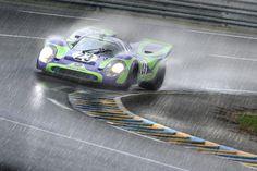 Porsche 917 Rainy day at work.