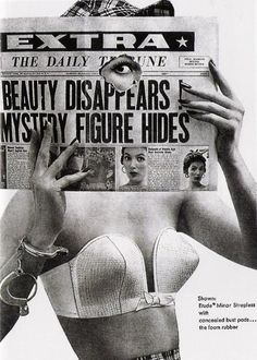 The Strapless Bra in the 1950's