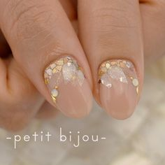 Sns Nails Colors, Love Nails, Pretty Nails, Nail Polish Art, Gel Nail Art, Gel Nails, Bridal Nails Designs, Nail Art Designs, Nail Parlour