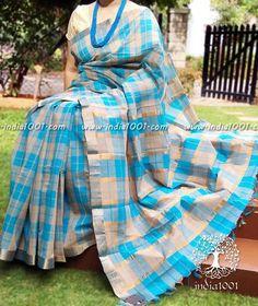 Copy of Fine & Elegant Mangalgiri Cotton Saree