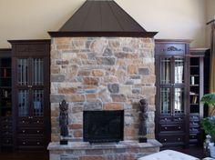 Fireplace Gallery, Stone Veneer, Home Decor, Interior Design, Home Interior Design, Stone Cladding, Home Decoration, Decoration Home, Interior Decorating