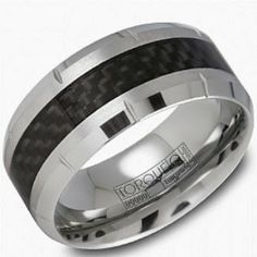 Cool Wedding Bands for Men- Crown Ring Platinum