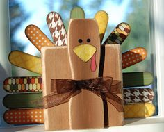 Nap Time Crafts: A Late Turkey 2x4 project.
