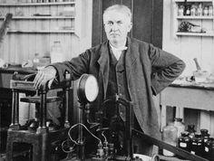 22 octobre 1879 - Edison invente l'ampoule électrique - Herodote.net