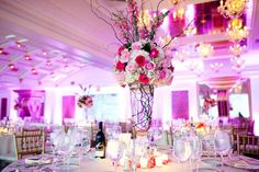 Romantic Wedding Receptions