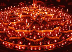 Astounding #candles composition made for Diwali