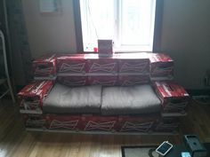 The Ultimate Bro Beer Couch, Plus Today's Fix