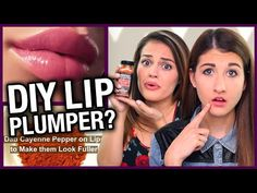 DIY Lip Plumper w/ Cayenne Pepper? - Makeup Mythbusters w/ Maybaby & Carrie Rad - YouTube