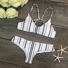 Pre Order Stripe Bikini