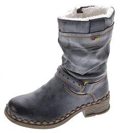 TMA Damen Winter Stiefel echt Leder gefüttert Comfort Stiefeletten TMA 5005  Schuhe Boots Gr. 36 - 42  Amazon.de  Schuhe   Handtaschen 3890e9b277