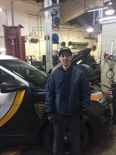 Welcome aboard to Robert McQuone our new police mechanic.