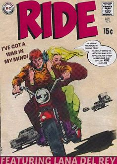 Lana Del Rey #Ride comic book