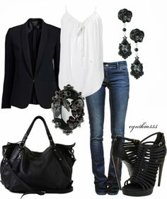 Recreate w/ CAbi spring City blazer - lien tank - Brett jean