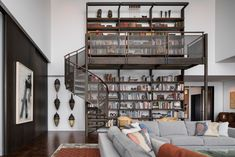 Residence for Two Collectors is an art-filled Chicago penthouse