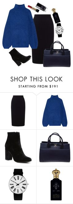 """""""Untitled #70"""" by notosuper on Polyvore featuring Roland Mouret, By Malene Birger, Witchery, Chanel, Rosendahl, Clive Christian and Lancôme"""