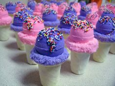 Mini Ice Cream Cone Bath Bombs