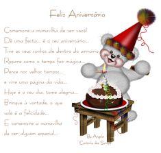 Feliz Aniversário Animado! Comemore a maravilha de ser você!